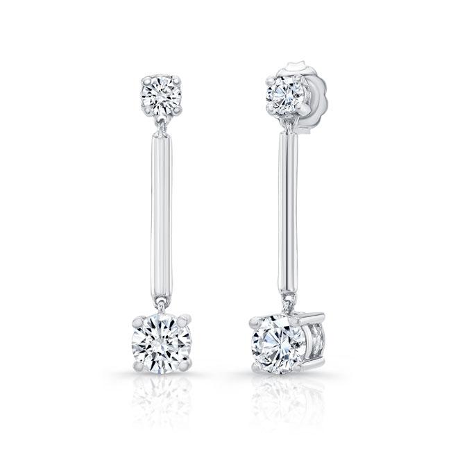 Diamond Drop Earrings 8103ER