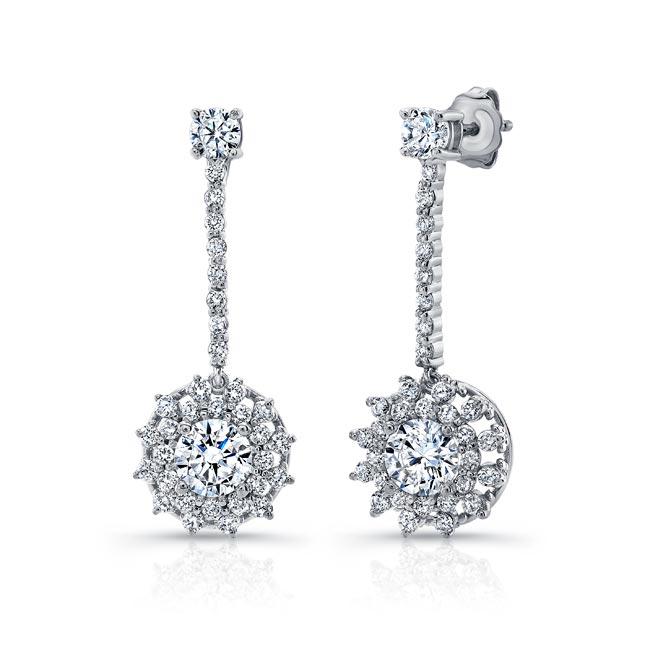 Diamond Drop Earrings 8104ER