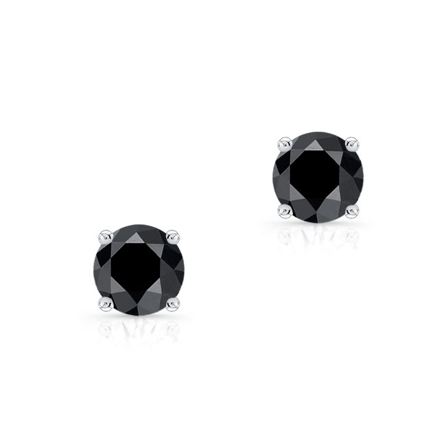 1.00ct. Black Diamond Studs BK-8094ER100 Image 1