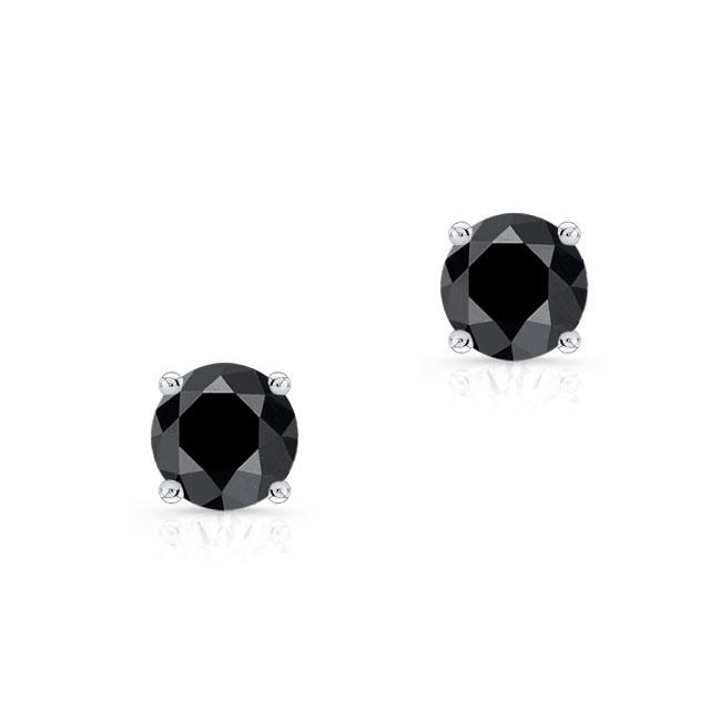 1.00ct. Black Diamond Studs BK-8098ER100
