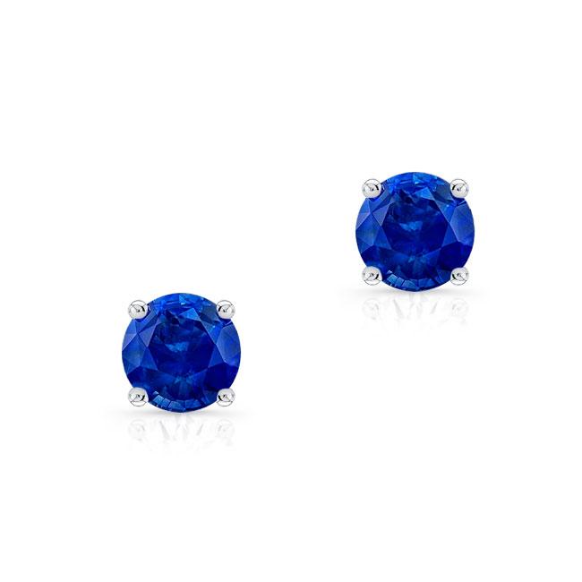 1.00ct. Blue Sapphire Studs BS-8098ER100