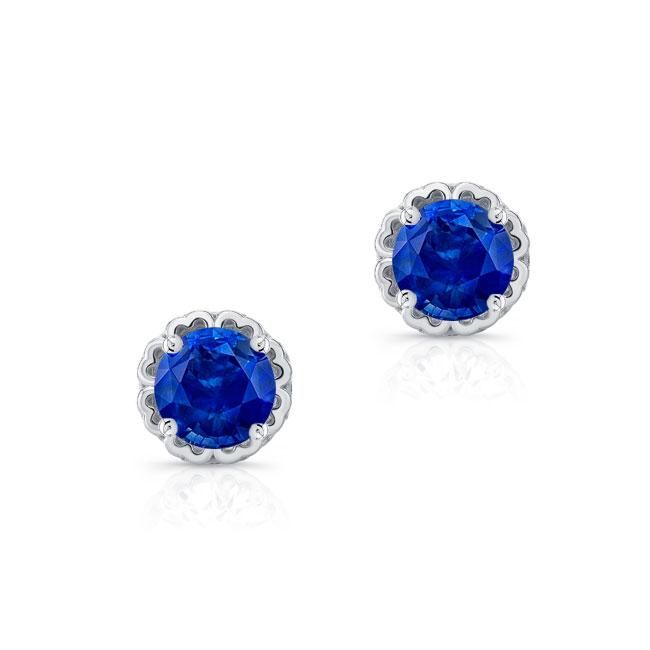 1.00ct. Blue Sapphire Studs BS-8099ER100
