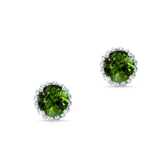 1.00ct. Green Tourmaline Studs GT-8097ER100 Image 1