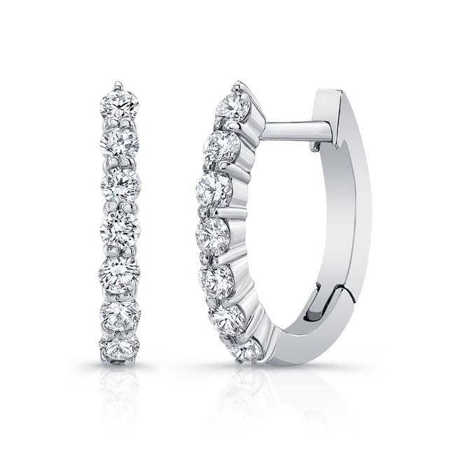 Diamond Hoop Earrings M2001ER