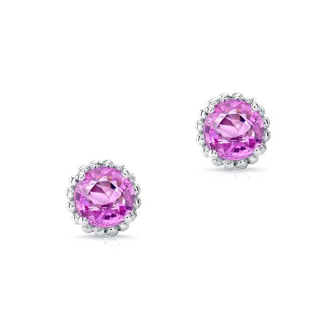 1.00ct. Pink Sapphire Studs PS-8097ER100