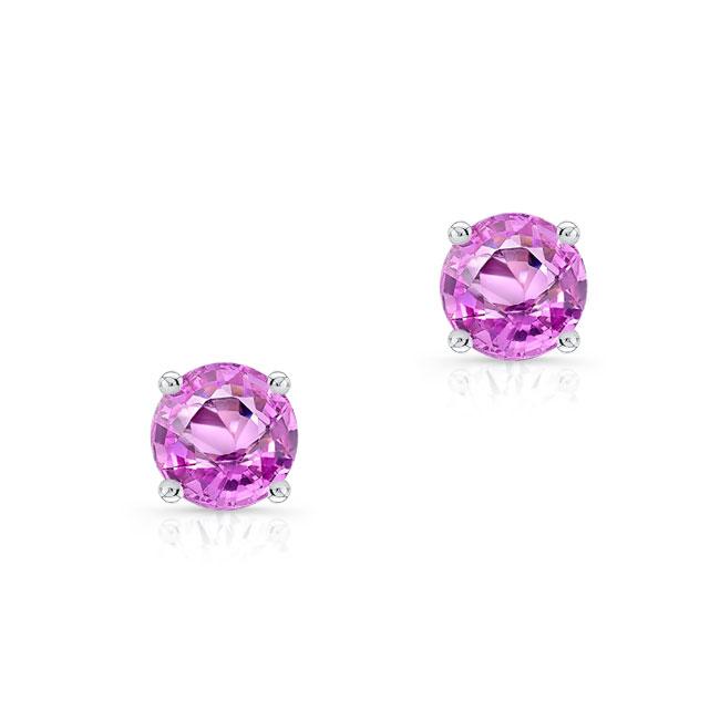 1.00ct. Pink Sapphire Studs PS-8098ER100