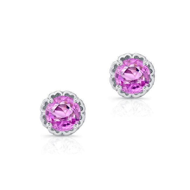1.00ct. Pink Sapphire Studs PS-8099ER100