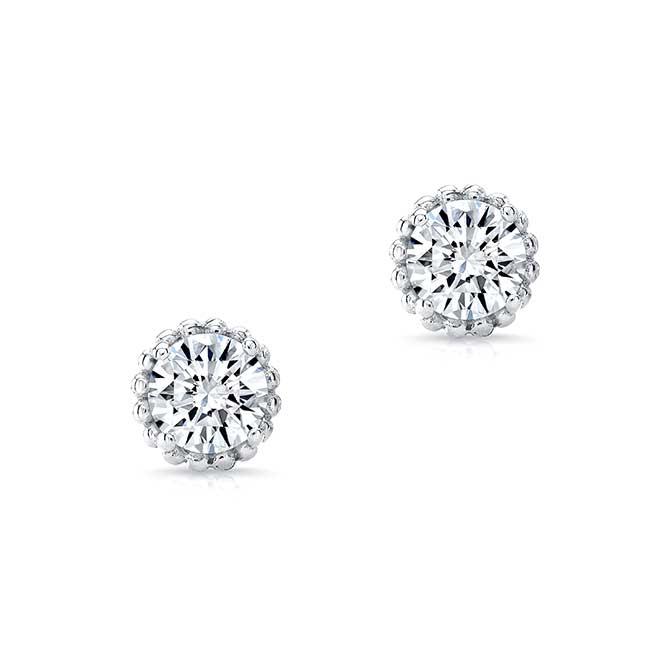 1.00ct. Diamond Studs 8097ER100 Image 2