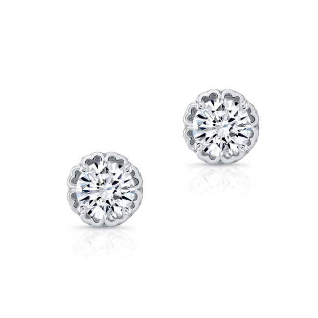 0.50ct. Diamond Studs 8099ER50 Image 2