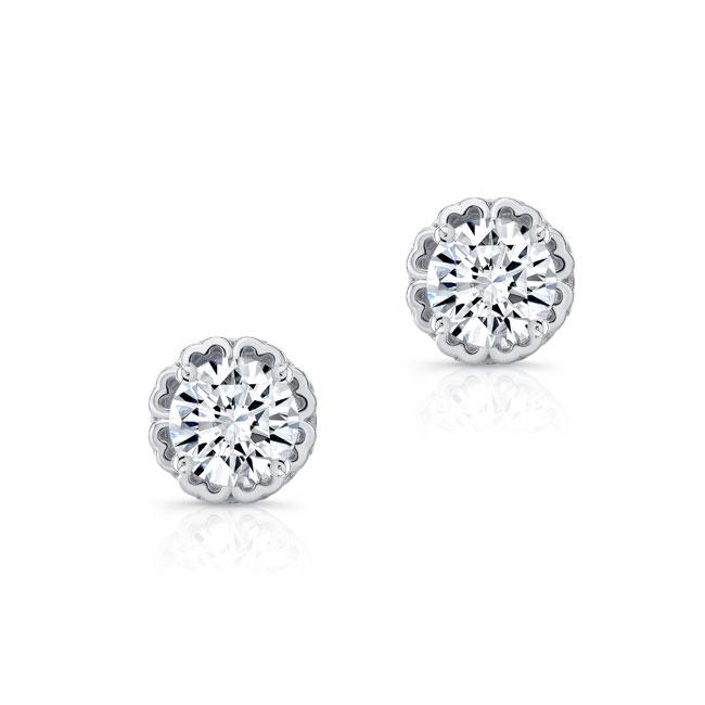 0.75ct. Diamond Studs 8099ER75 Image 2
