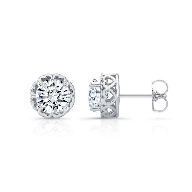0.75ct. Diamond Studs 8099ER75 Image 1