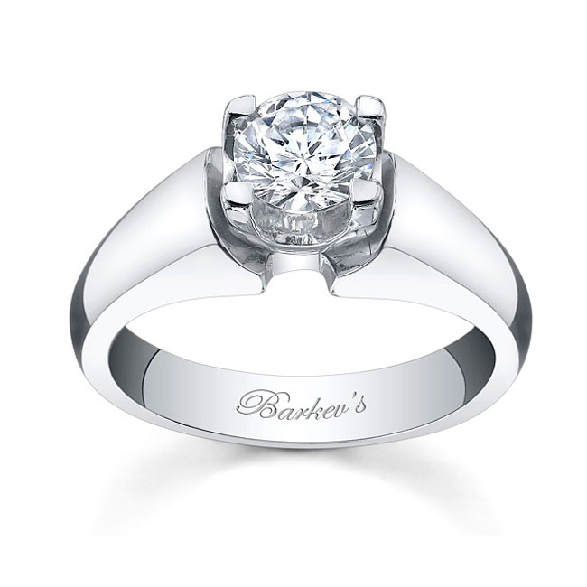 Round Solitaire Ring 4501L