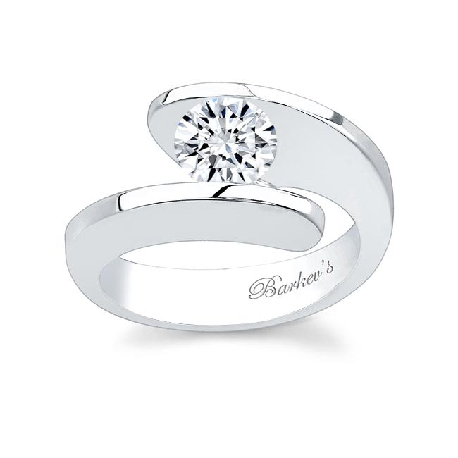 Round Solitaire Engagement Ring 4587L