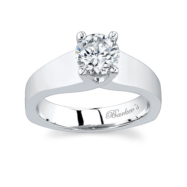 Round Solitaire Engagement Ring 4984L