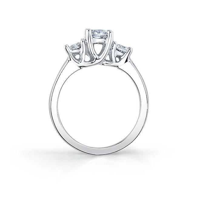 Three Stone Engagement Ring 5022L Image 2