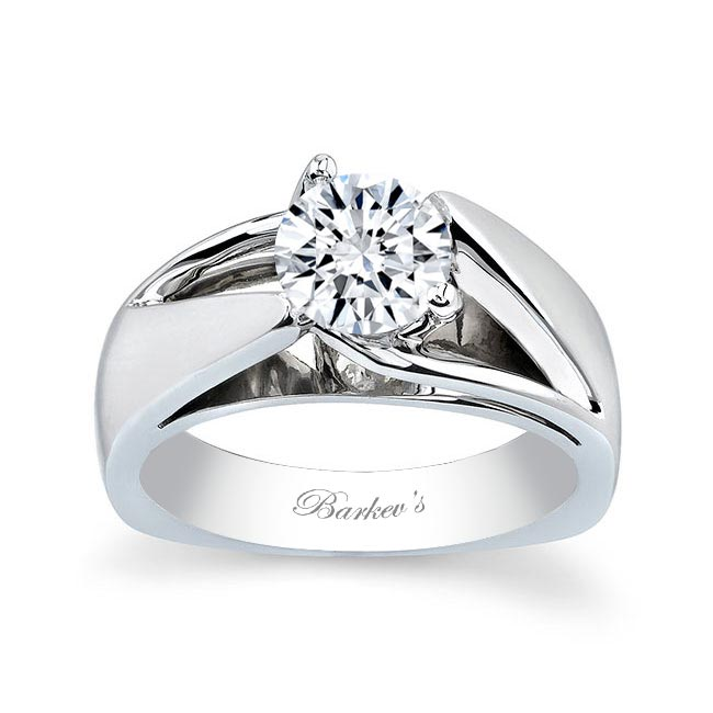 Round Solitaire Engagement Ring 5074L Image 1