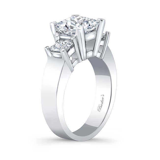 Three Stone Diamond Engagement Ring 5107L Image 2