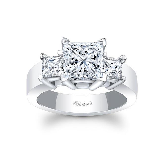 Three Stone Diamond Engagement Ring 5107L Image 1