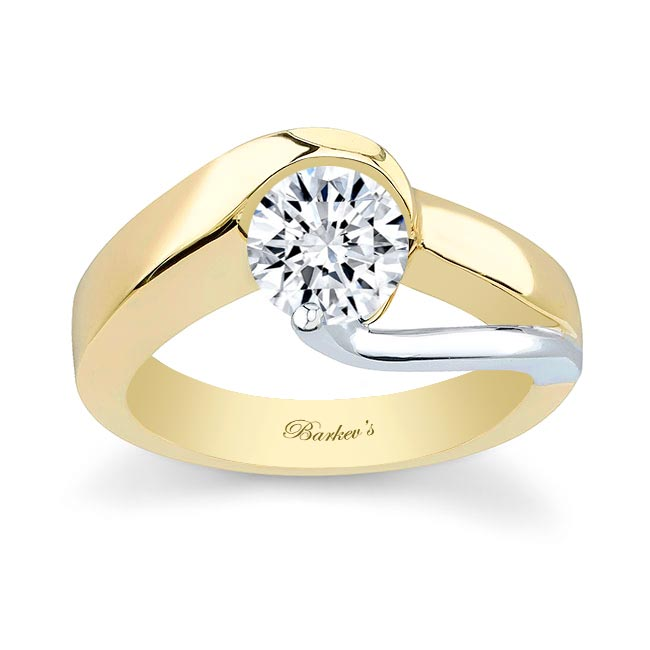Yellow Gold Solitaire Engagement Ring 5193L