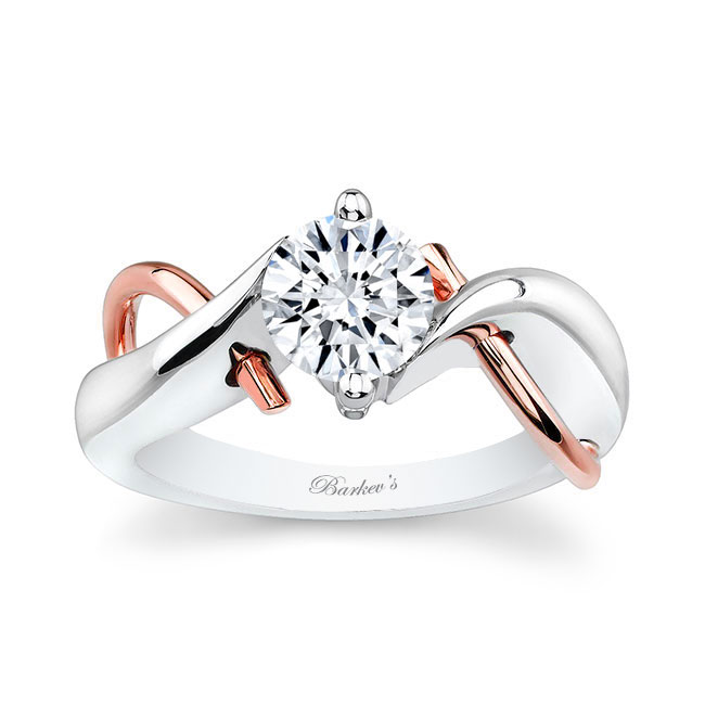 Moissanite Solitaire Diamond Ring MOI-5219L