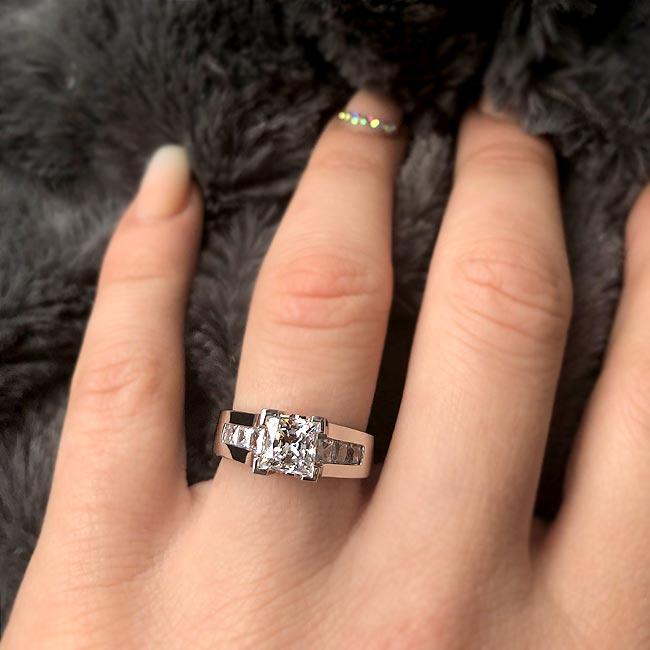 Diamond Engagement Ring 5868L Image 2