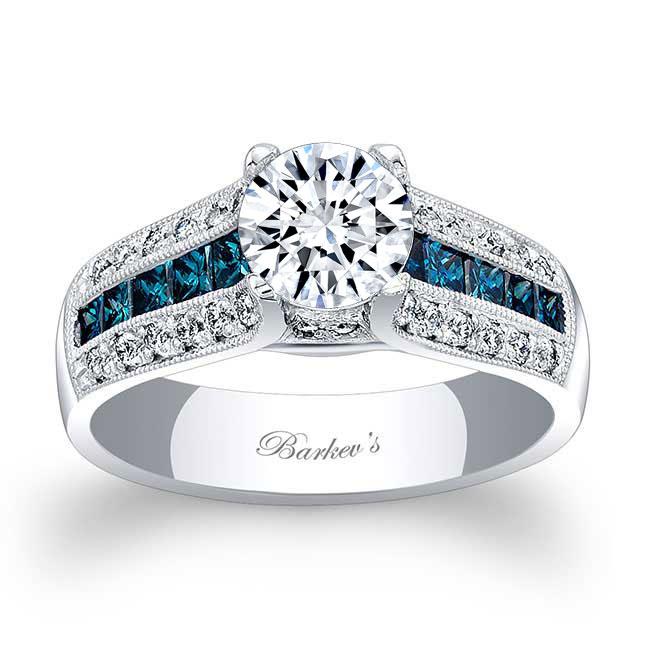 Blue Diamond Engagement Ring 6335LBD