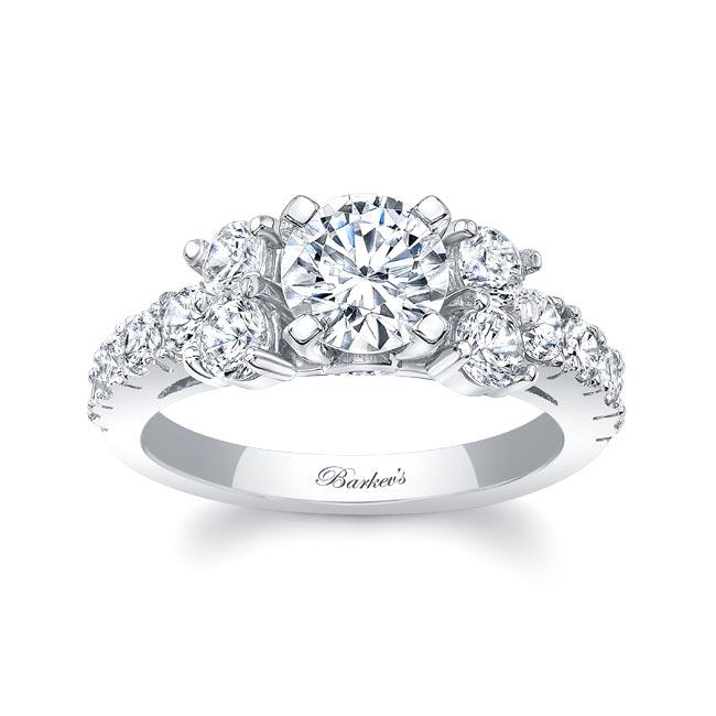 Unique Moissanite Diamond Ring