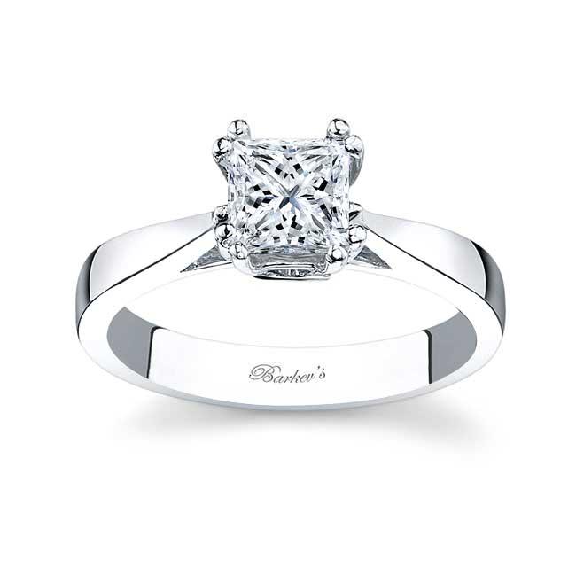 Princess Cut Solitaire engagement Ring 6660L