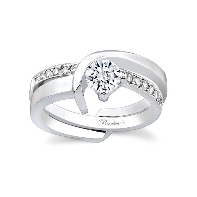 White gold diamond Bridal Set 6670S