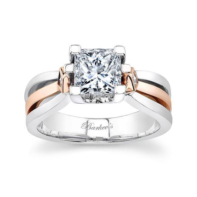 Moissanite Engagement Ring MOI-6682L