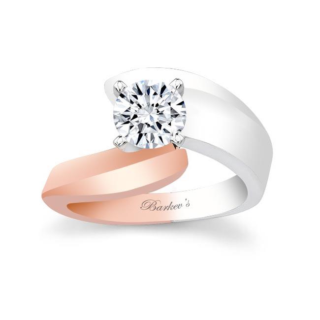 Moissanite Solitaire Engagement Ring MOI-6835L