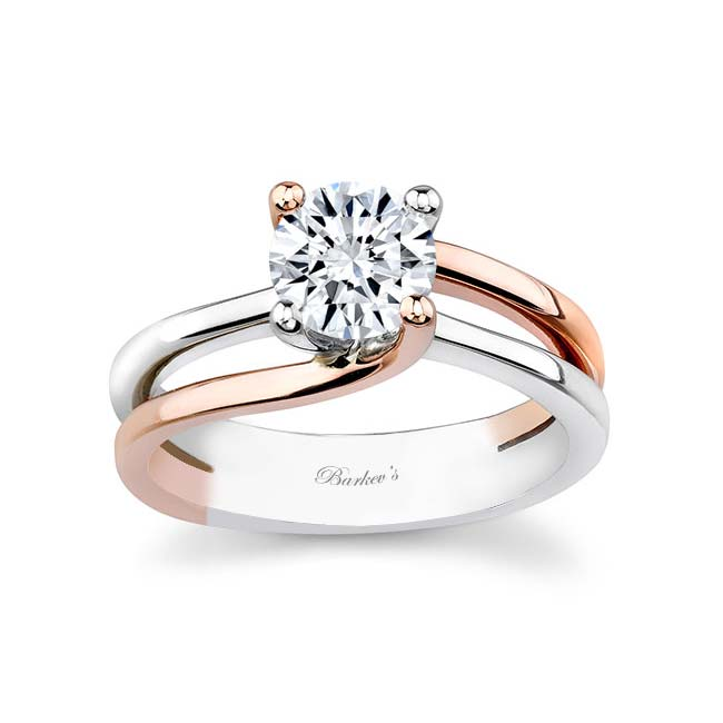 Moissanite Solitaire Engagement Ring MOI-6884L