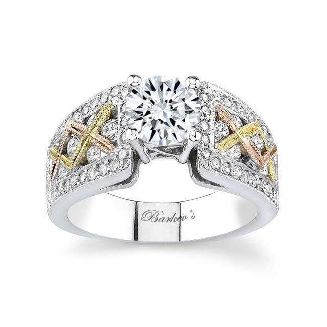 Tri Color Engagement Ring 6941L Image 1