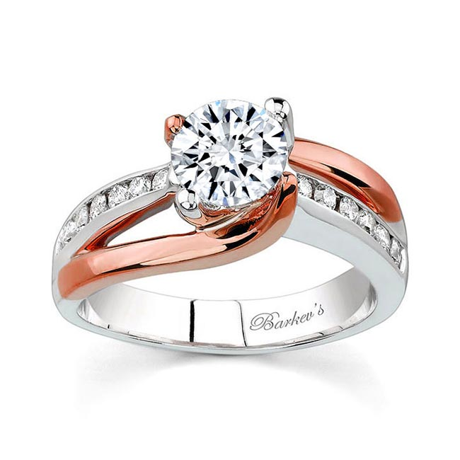 Moissanite Engagement Ring MOI-6990L