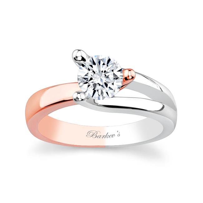 Moissanite Solitaire Ring MOI-7045L