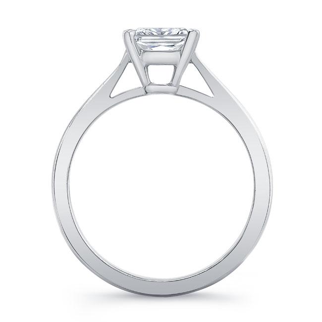 Princess Cut Solitaire Engagement Ring 7062L Image 2