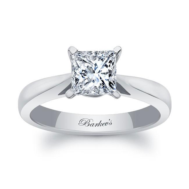 Princess Cut Solitaire Engagement Ring 7062L Image 1