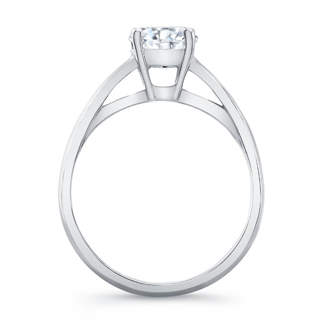 Moissanite Solitaire Engagement Ring MOI-7081L Image 2
