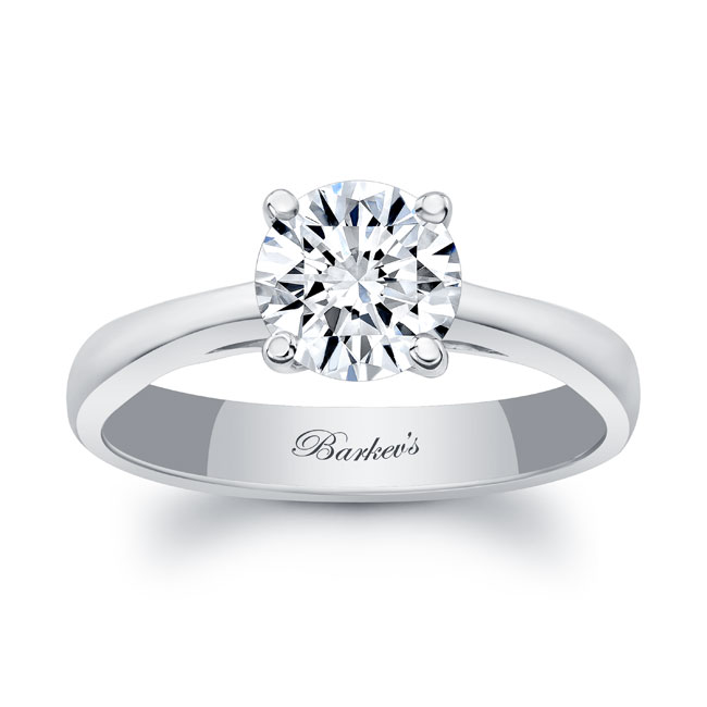 Moissanite Solitaire Engagement Ring MOI-7081L Image 1
