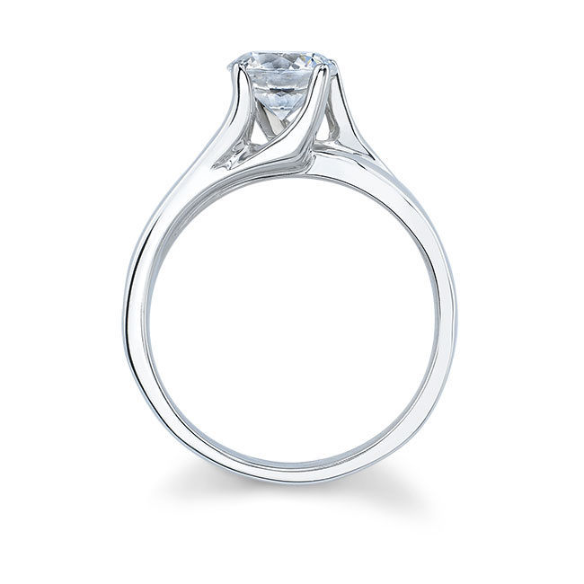 Solitaire Engagement Ring 7086L Image 2