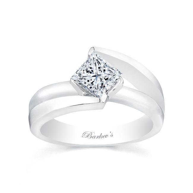 Princess Cut Solitaire engagement Ring 7087L Image 1