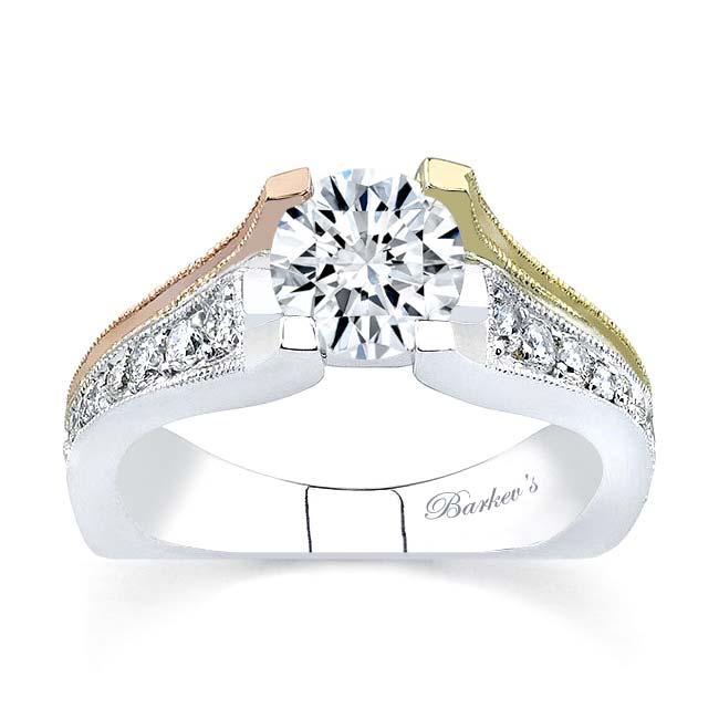 Tri Color Engagement Ring 7137L Image 1