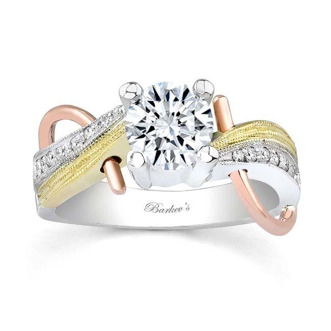 Tri Color Engagement Ring 7138L Image 1