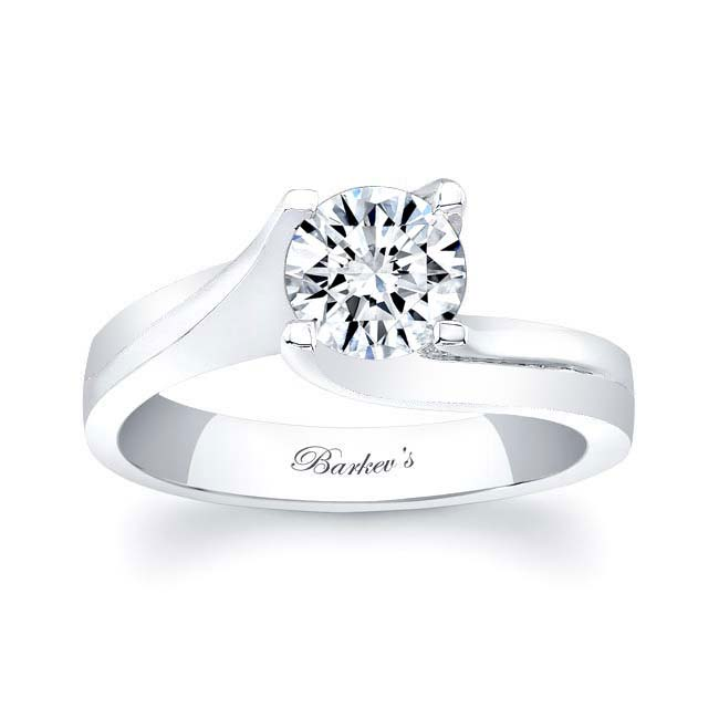 Round Solitaire Engagement Ring 7158L