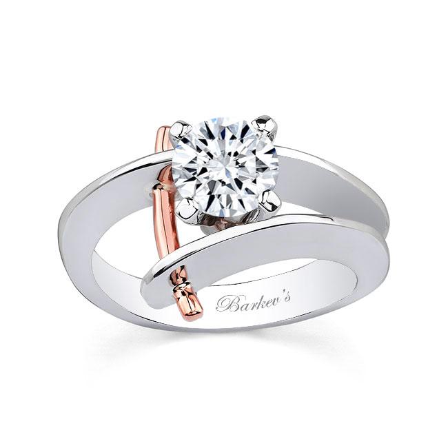 Moissanite Solitaire Engagement Ring MOI-7159L