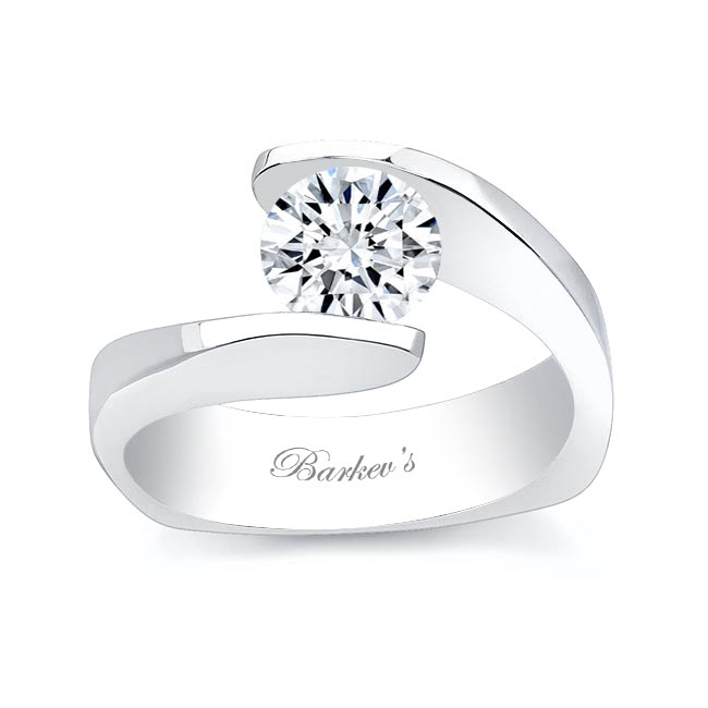 Round Solitaire Engagement Ring 7166L