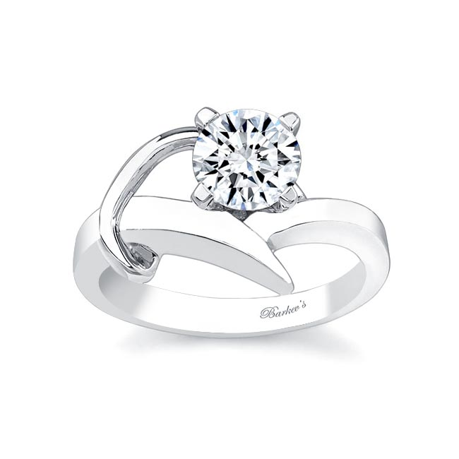 Round solitaire Engagement Ring 7299L