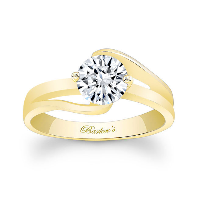 Solitaire Engagement Ring 7378L Image 1