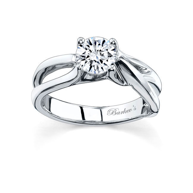 Round Solitaire Engagement Ring 7418L Image 1