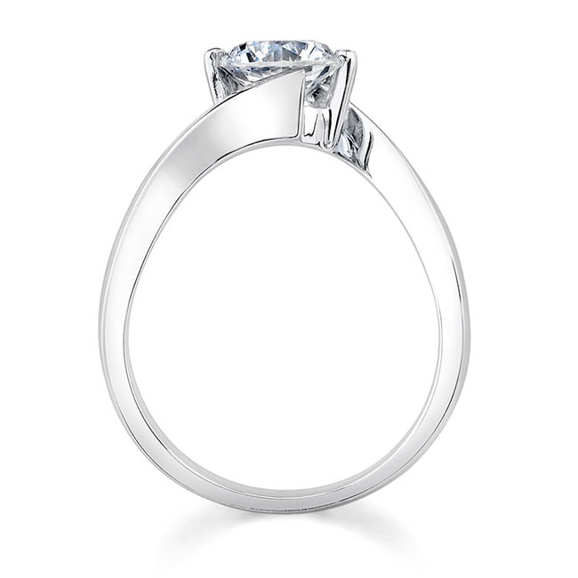 Solitaire Engagement Ring 7499L Image 2